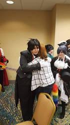 I hugged Sebastian :D by snowkittycat123