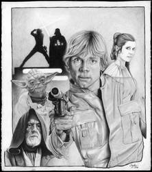 Star Wars by kevindoyleart