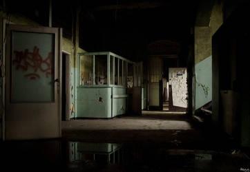 mental hospital II by Haszczu