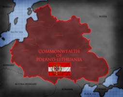 1910 - Map of Lithuania-Poland by GTD-Orion