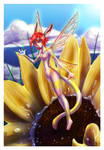 Sola Sunflower Fairy by Ztarli