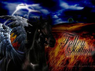 Fallen Stallion by dahnieCORE89