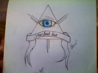 All seeing eye by dahnieCORE89