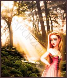 Rapunzel by dahnieCORE89