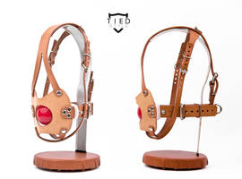 The FaceHugger with leather panel and ball by TiedStyle