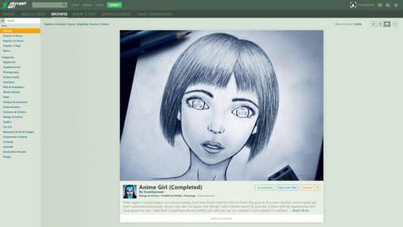 DeviantArt Visual Suggestion by S1RBRAD3TH
