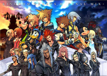 Kingdom Hearts by KingdomHeartsClub123