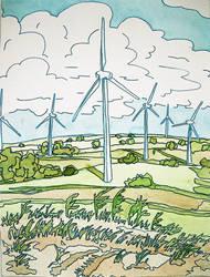 windmills by egovsego