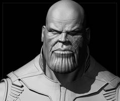 Thanos (WIP) by THECOOLGEEK