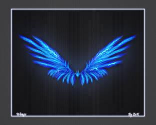 Blue Wings by ZaKaR