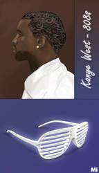 Kanye West Fan Art by ZaKaR