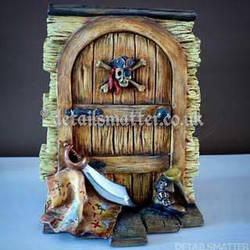 Pirate Fairy Door by DetailsMatter