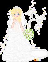My dream bride by orenji-seira