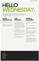 Hello Wednesday by DrewDahlman