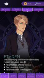 Ethren Whitecross Grimoire Page by Taurrigan