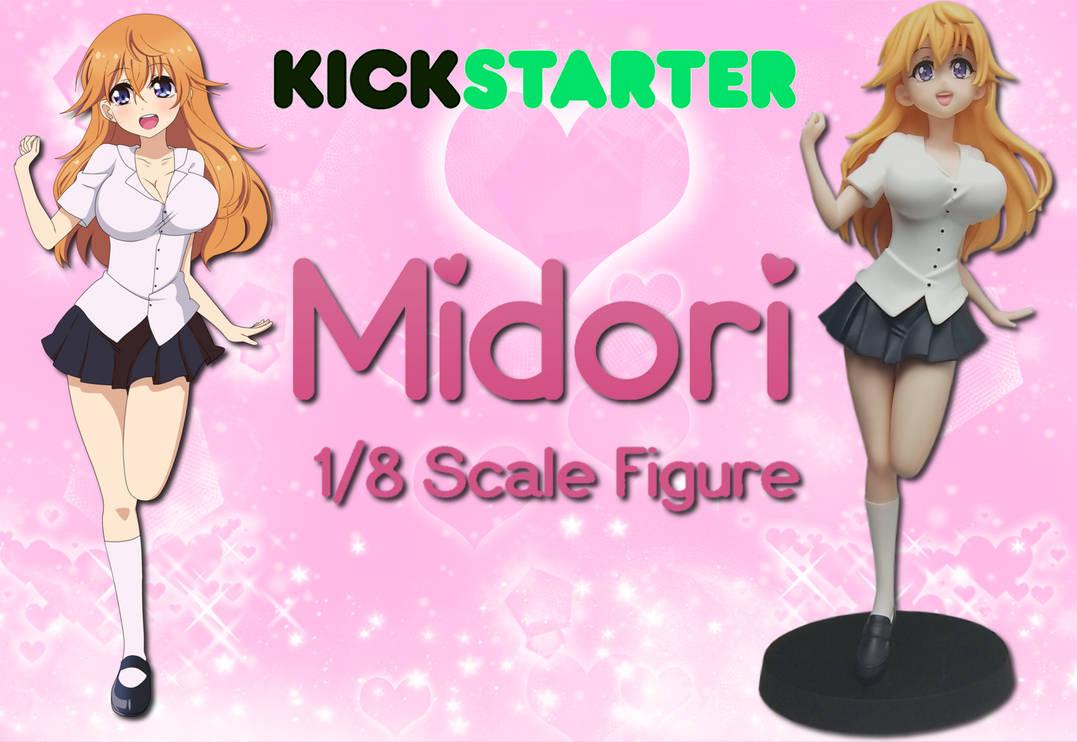 Midori 1/8 Figure Kickstarter Campaign by Utharaptor5