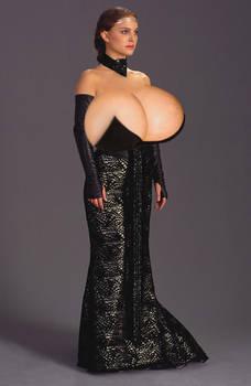 Natalie Portman - Padme Breast Expansion by Zealot42