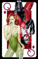 queen of diamonds villains by bernardchang