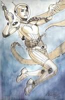 spacegirl by bernardchang