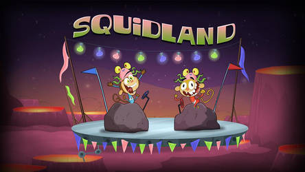squidland by HEROBOY