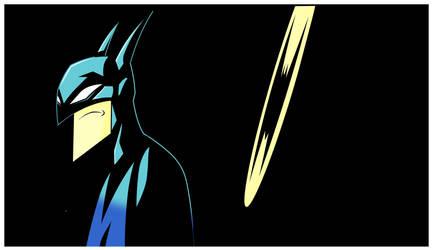 batman panel by HEROBOY