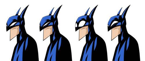batman  eye expressions by HEROBOY