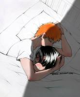 ichigo and rukia by tamtrac