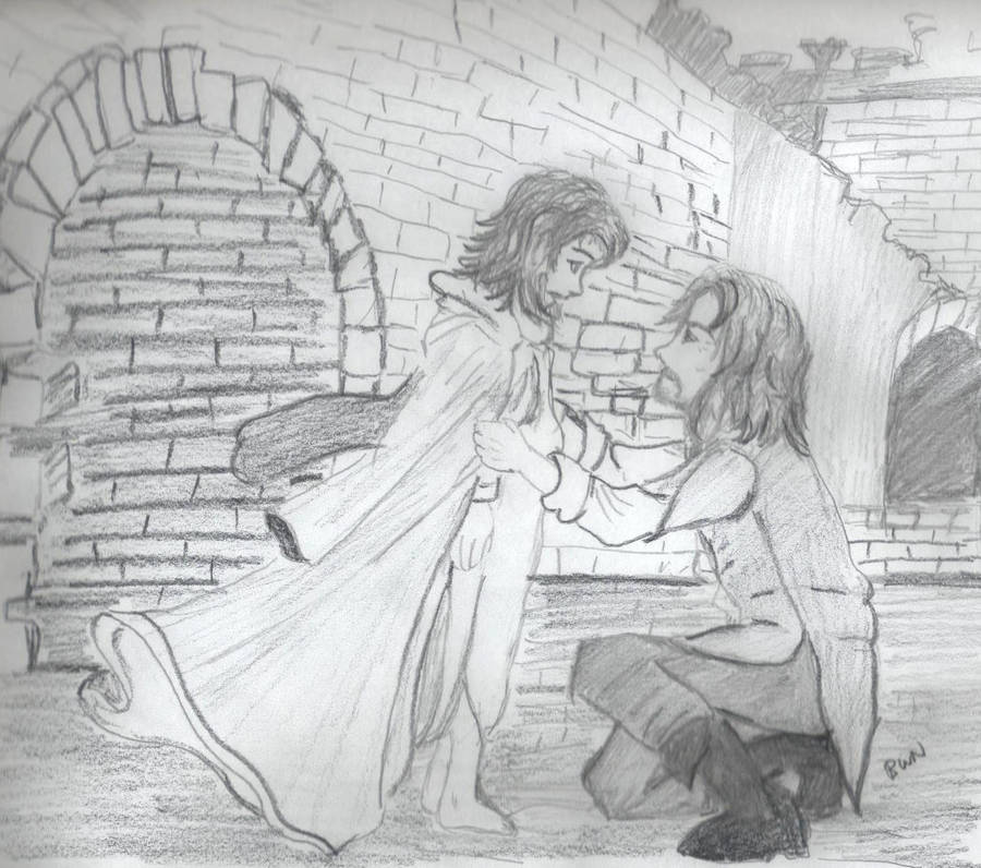 Eldarion Meets Faramir for First Meetings contest by BethannNg