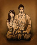 The Samurai Family by RebeccaDell