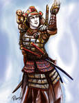 Traditional Samurai by RebeccaDell