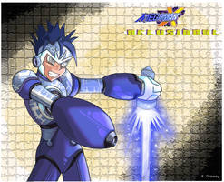MegamanX:Delusional VOLKYN by RebeccaDell