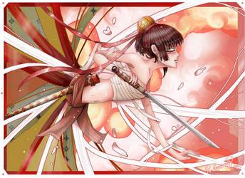 Lone Samurai by RebeccaDell