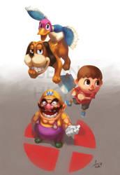 Super Smash Bros. Zine: 'Here Come the Oddballs!' by Sean-the-Artist