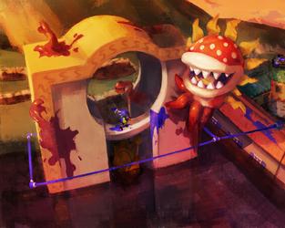 SplatShine: Final Boss Campaign Concept by SeanHicksArt