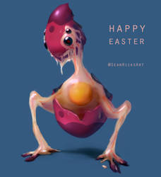 HAPPY EASTEROHGOD by Sean-the-Artist