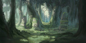Ancient Forest by stephengarrett1019