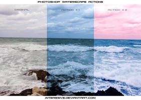 Photoshop waterscape Action by interesive