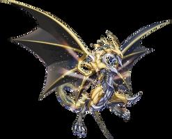 Divine Dragon Lord Felgrand - Full Artwork by XrosM