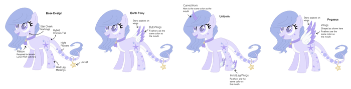 Lunar Wish Catchers (Female) Reference by WishingWellBro
