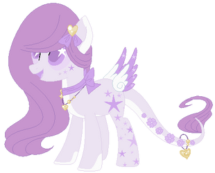 :CLOSE: Pastel Purple Lunar Wish Catcher Adoptable by WishingWellBro