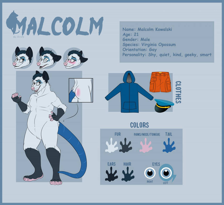 Malcolm Reference by Foxy-page