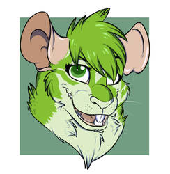 Apex the green rat by Foxy-page