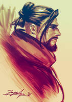 Casual Hanzo by TOYDREAMER