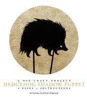 Hedgehog Shadow Puppet by mimetalk
