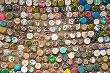 bottle caps by avspoisoner