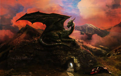 Dragon's Lair by frenchfox