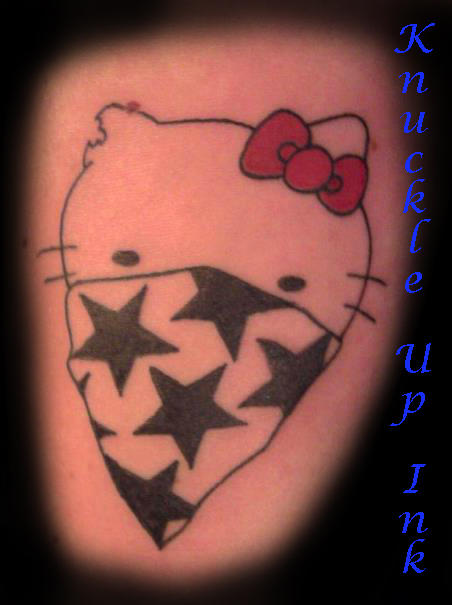 Hello Kitty Gangsta by bigmikey114