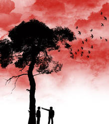 Red Dusk by cosinho