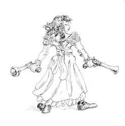 Two Guns by ejamesheil