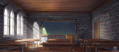 Stagebanner Design: Classroom by ExitMothership